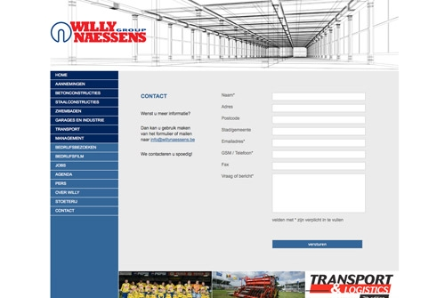 Website Willy Naessens Group