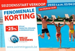Willy Naessens Zwembaden digitale nieuwsbrief