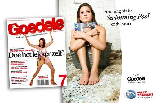 Advertentie Willy Naessens Zwembaden
