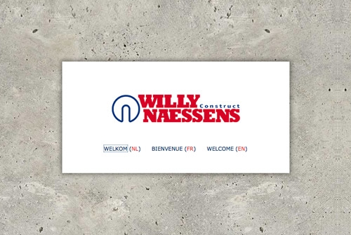 Website Willy Naessens Construct